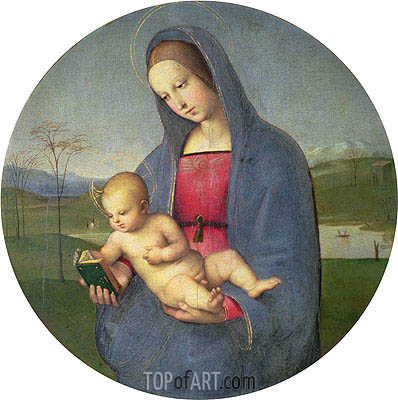 Raphael | The Madonna Conestabile, c.1502/03