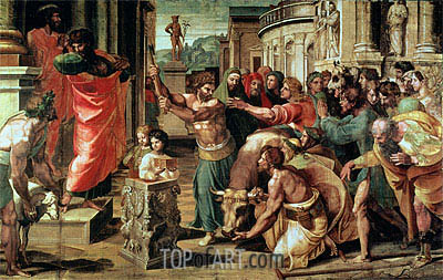 The Sacrifice at Lystra, c.1515/16 | Raphael | Painting Reproduction