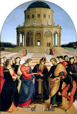 Raphael | The Marriage of the Virgin, 1504