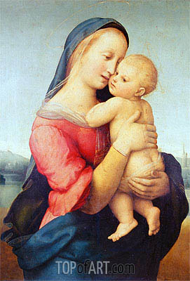 The Tempi Madonna, 1508 | Raphael | Painting Reproduction