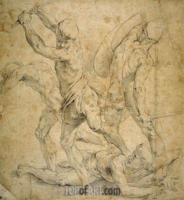 Raphael | Drawing for The School of Athen's, undated