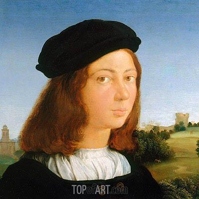 Portrait of a Man, c.1506/13 | Raphael | Gemälde Reproduktion