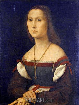 La Muta (The Silent One), undated | Raphael | Painting Reproduction