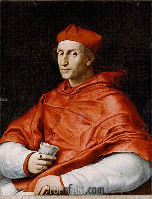 Raphael | Portrait of Cardinal Bernardo Dovizzi Bibbiena, c.1514/16