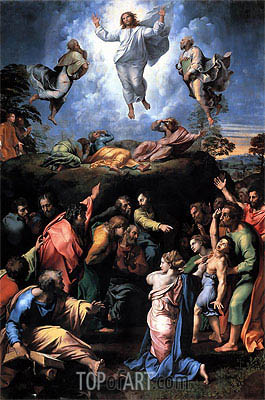 The Transfiguration, c.1519/20 | Raphael | Painting Reproduction