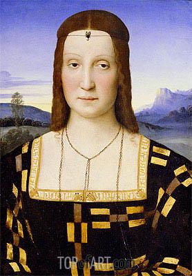 Raphael | Portrait of Elisabetta Gonzaga, c.1503