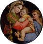 Madonna della Seggiola | Raffaello Sanzio Raphael