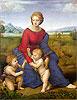 Madonna of Belvedere (Madonna del Prato) | Raffaello Sanzio Raphael