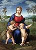 Madonna of the Goldfinch (Madonna del Cardellino) | Raffaello Sanzio Raphael