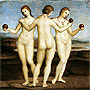 The Three Graces | Raffaello Sanzio Raphael