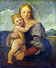 The Madonna and Child (The Mackintosh Madonna) | Raffaello Sanzio Raphael