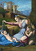 The Madonna of the Veil (The Madonna of the Blue Diadem) | Raffaello Sanzio Raphael