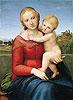 The Small Cowper Madonna | Raffaello Sanzio Raphael