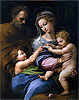 The Virgin with a Rose (The Holy Family with Little Saint John) | Raffaello Sanzio Raphael