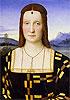 Portrait of Elisabetta Gonzaga | Raffaello Sanzio Raphael