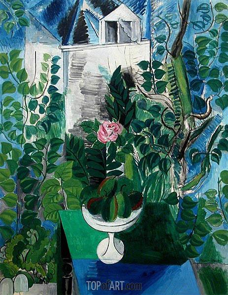 Raoul Dufy | Jardin et maison au Havre, 1915