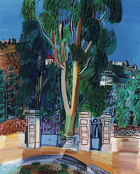 The Eucalyptus Raoul Dufy Painting Reproduction 3959