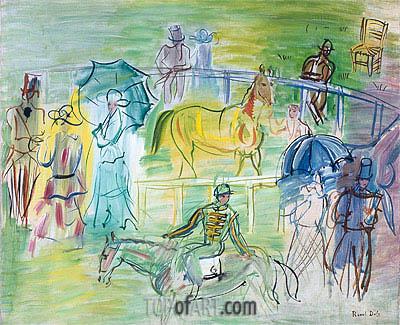Raoul Dufy | Paddock, undated