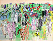 Ascot | Raoul Dufy (inspired by)