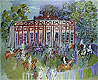 The Paddock at Chantilly | Raoul Dufy (inspired by)