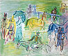 Paddock | Raoul Dufy (inspired by)