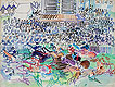 The Races at Epsom | Raoul Dufy (inspired by)