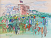 Front of the Grandstand | Raoul Dufy (inspired by)
