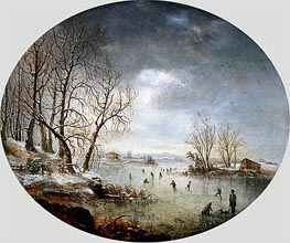 Winter Scene in New Jersey | Regis-Francois Gignoux | outdated