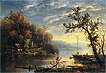 Autumn on the Hudson | Regis-Francois Gignoux