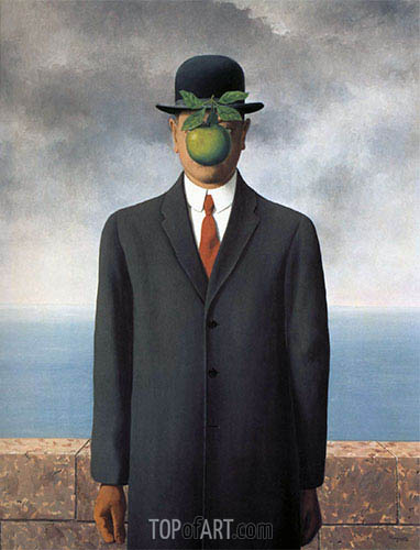 Rene Magritte | The Son of Man, 1964