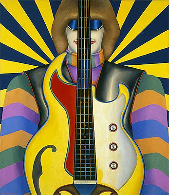Rock-Rock, 1961 | Richard Lindner | Gemälde Reproduktion