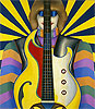 Rock-Rock | Richard Lindner (inspired by)