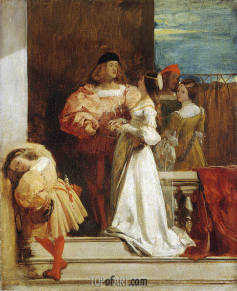 Evening in Venice, c.1826/28 | Richard Parkes Bonington | Painting Reproduction
