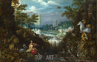 Orpheus, 1628 | Roelandt Savery| Painting Reproduction