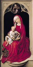 Virgin and Child (Duran Madonna), c.1435/38 von van der Weyden | Gemälde-Reproduktion