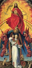 Christ and St. Michael | van der Weyden | outdated