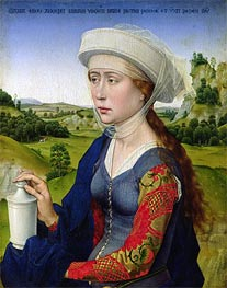 St. Mary Magdalene, c.1450 by van der Weyden | Painting Reproduction