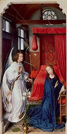 The Annunciation, c.1455 by van der Weyden | Painting Reproduction