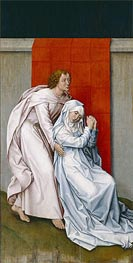 Virgin and Saint John the Evangelist Mourning, c.1450/55 von van der Weyden | Gemälde-Reproduktion