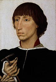 Francesco d'Este, c.1460 by van der Weyden | Painting Reproduction