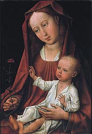 Madonna with Child, undated by van der Weyden | Painting Reproduction