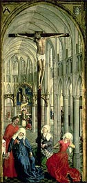 The Altarpiece of the Seven Sacraments, c.1445/50 by van der Weyden | Painting Reproduction