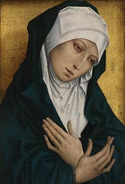 Mater Dolorosa, undated by van der Weyden | Painting Reproduction