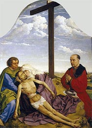 Pieta, c.1450 by van der Weyden | Painting Reproduction