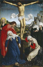 Crucifixion, undated by van der Weyden | Painting Reproduction