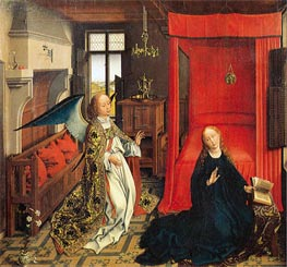 The Annunciation, undated by van der Weyden | Painting Reproduction