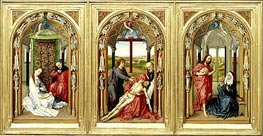 Miraflores Altarpiece, c.1440 by van der Weyden | Painting Reproduction