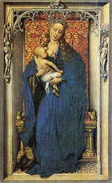 Madonna, c.1440 by van der Weyden | Painting Reproduction