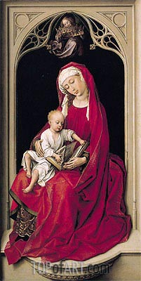 van der Weyden | Virgin and Child (Duran Madonna), c.1435/38