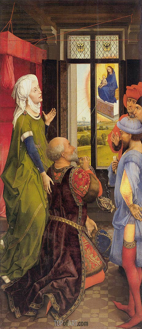 Vision of the Emperor Octavian, c.1445/48 | van der Weyden | Painting Reproduction